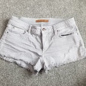 Joes Jeans Gray Cut Off Jean Shorts Size 27